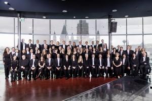 Foto Orchester vor Mainzer Dom